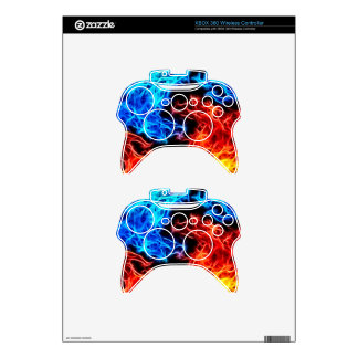 flames of good and evil xbox 360 controller decal