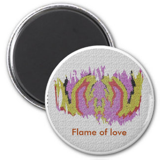 Flames of Love Magnet
