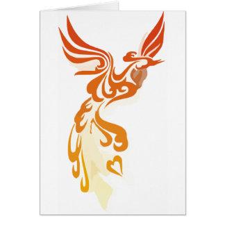 Flames of Phoenix Card