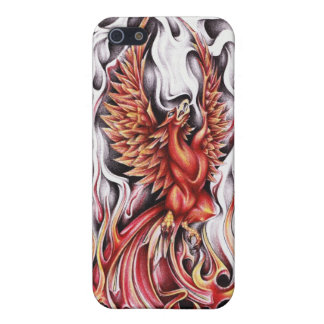 Flames of the Phoenix IPhone Cover