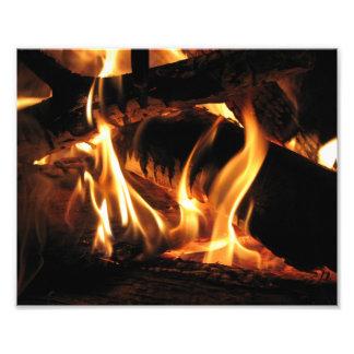 Flames Photo Print