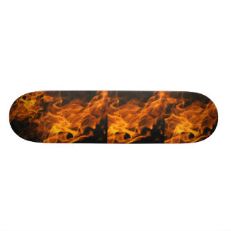 Flames Skateboard