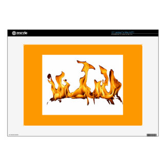 """flames skin for 15"""" laptop"""