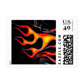 Flames Stamp