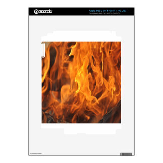 Flames - Too Hot to Handle Skins For iPad 3