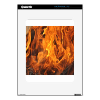 Flames - Too Hot to Handle Skins For The iPad