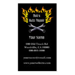 Flames Tools Double-Sided Standard Business Cards (Pack Of 100)