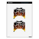 Flames X-Box Skin Xbox 360 Controller Skins
