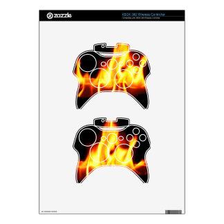 FLAMES XBOX 360 CONTROLLER SKIN