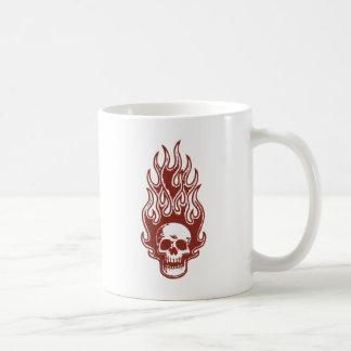 Flameskull 1 -red coffee mug