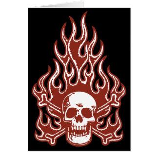 Flameskull -red card