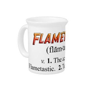 Flametasticy Jarrón