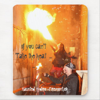Flamethrower Mouse Pad