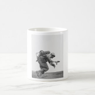 Flamethrower Operator - Battle of Iwo Jima Coffee Mug