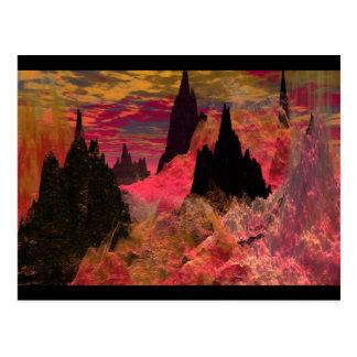 Flametongue Postcard