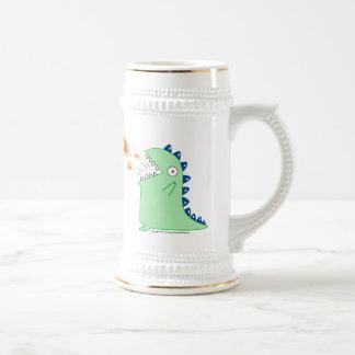 Flamey el dragón Stien Taza De Café
