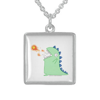 Flamey the Dragon Necklace