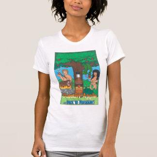 Flamin' Apple - bake tons of Paradise   ladies T-Shirt