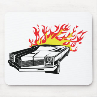 Flamin' Hot Rod Mouse Pad