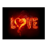 Flamin' Love Postcards