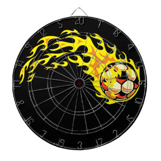 Flamin' Soccer Ball Dartboard