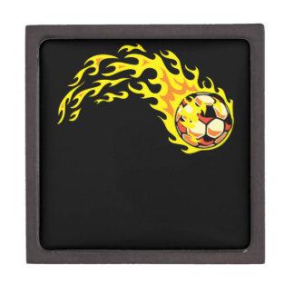 Flamin' Soccer Ball Gift Box