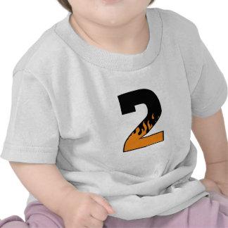 Flaming 2 t shirts