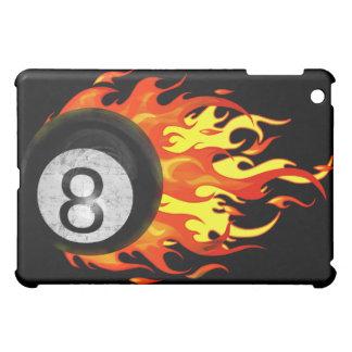 Flaming 8 Ball Cover For The iPad Mini