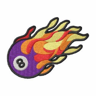 Flaming 8-ball