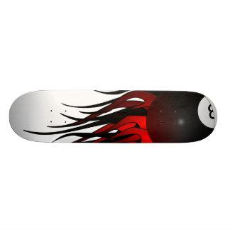 Flaming 8-Ball LG Skateboard Deck