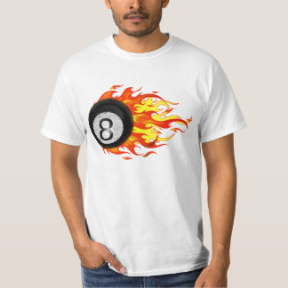 Flaming 8 Ball T-Shirt