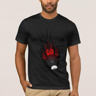 Flaming 8-ball T-Shirt