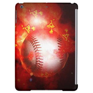 Flaming Baseball iPad Air Case