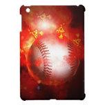 Flaming Baseball iPad Mini Cases