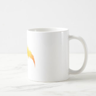 Flaming-Basketball Classic White Coffee Mug