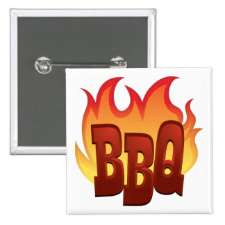 Flaming BBQ Buttons