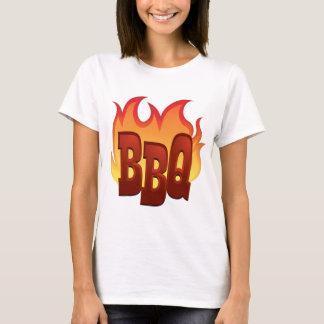 Flaming BBQ T-Shirt
