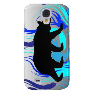 Flaming Bear Samsung Galaxy S4 Case
