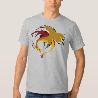 Flaming Beast T-shirt