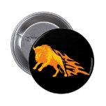 Flaming Bison #3 Pins