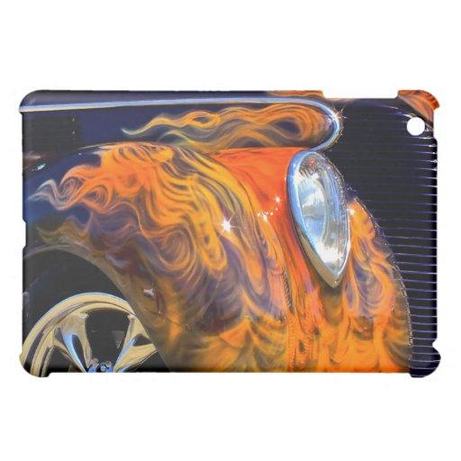 Flaming Black Classic iPad Skin Case For The iPad Mini