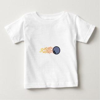 Flaming Bowlin Baby T-Shirt