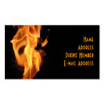Flaming Business/Profile Card Business Card Template