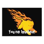 Flaming Cat #6 Invites