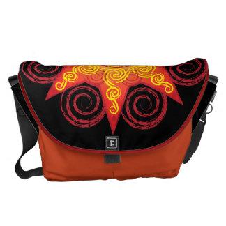 Flaming Celtic Sun Commuter Bag