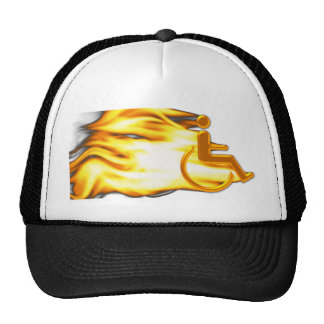 Flaming Chair Trucker Hat