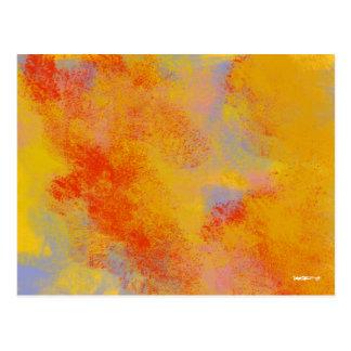 Flaming Chaparral Postcard