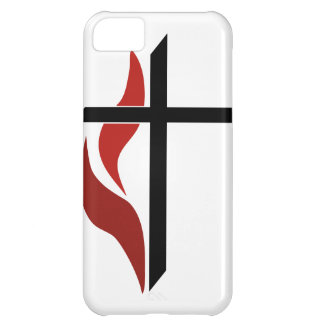 Flaming Cross iPhone 5C Case
