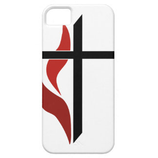 Flaming Cross iPhone SE/5/5s Case