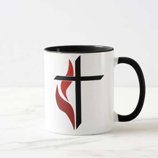 Flaming Cross Mug